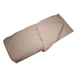 Duvalay™ Adult Ex Large Disc-O-Bed Memory Foam Sleeping Bag and Duvet Cover Cappuccino