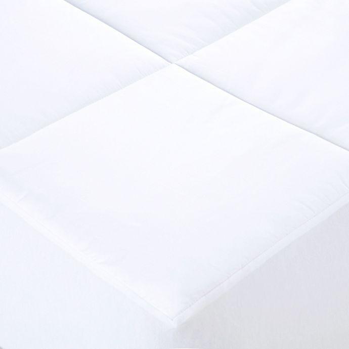 Alternate image 1 for Wamsutta® Dream Zone® 500-Thread-Count Cotton Filled Mattress Pad in White