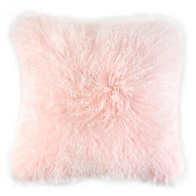 Caskata Lamb's Wool Square Throw Pillow