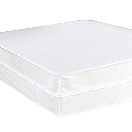 Everfresh Antibacterial Water Resistant Box Spring Protector in White