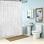 Bolinas PEVA 70-Inch x 72-Inch Shower Curtain Liner in Frost White