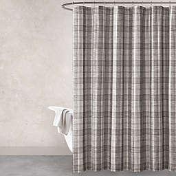 Haus Haven Turner Shower Curtain In Grey