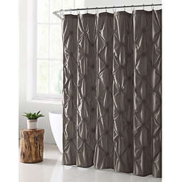 VCNY Home Floral Burst Shower Curtain in Taupe