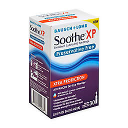 Bausch + Lomb Soothe® XP 30-Count Preservative Free Lubricant Eye Drops