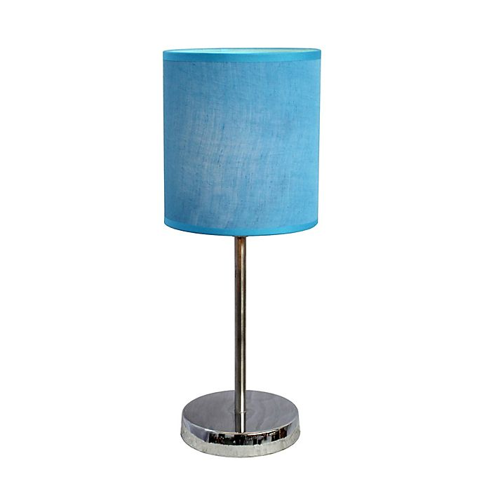 Alternate image 1 for Simple Designs Mini Basic Table Lamp