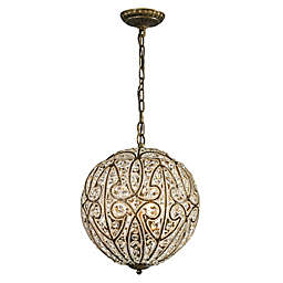 ELK Lighting Elizabethan Pendant in Dark Bronze