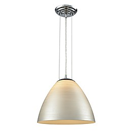 ELK Lighting Merida 1-Light Pendant in Polished Chrome