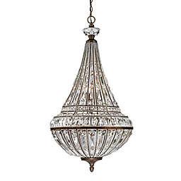 ELK Lighting Empire 9-Light Pendant in Mocha