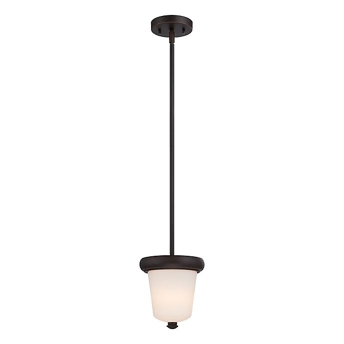 Alternate image 1 for Filament Design Fix 1-Light Mini Pendant Light in Mahogany Bronze