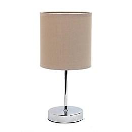 Mini Table Lamp in Chrome
