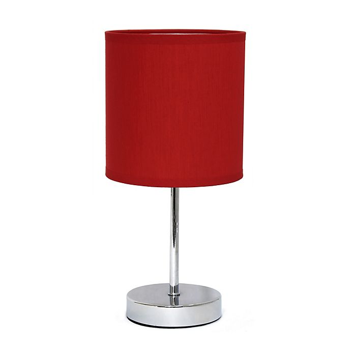 Alternate image 1 for Mini Table Lamp in Chrome