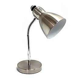 All The Rages Semi-Flexible Desk Lamp in Nickel