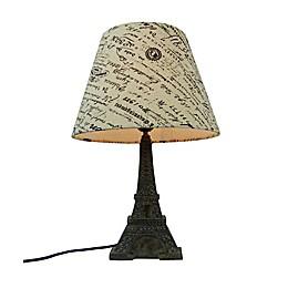 Simple Designs Paris Eiffel Tower Table Lamp