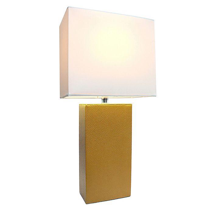 Alternate image 1 for Elegant Designs Monaco Avenue Table Lamp
