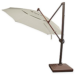 Bellini Home and Gardens Oxford 11-Foot Round Cantilever Umbrella