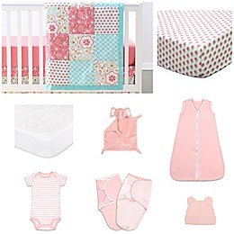 The PeanutShell™ Gia 11-Piece Sleep Essentials Crib Set