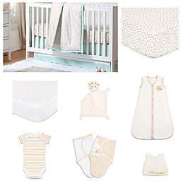 The Peanut Shell™ Minted Confetti Crib Bedding Collection