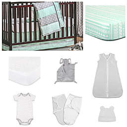 The Peanut Shell® Arrows Crib Bedding Collection