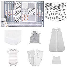 ThePeanutshell™ Woodland Crib Bedding Collection