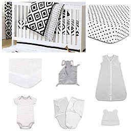 The  Peanutshell™ Deco Diamond Crib Bedding Collection