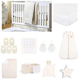 The Peanut Shell™ Confetti Chevron Crib Bedding Collection