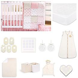 The Peanutshell™ Sweet Swan Crib Bedding Collection