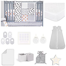 The PeanutShell™ Grey Woodland 18-Piece Nursery Essentials Set