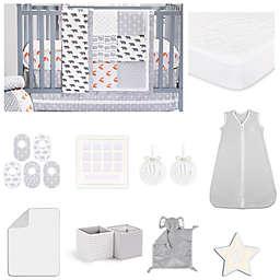 The Peanutshell™ Woodland Crib Bedding Collection in Grey