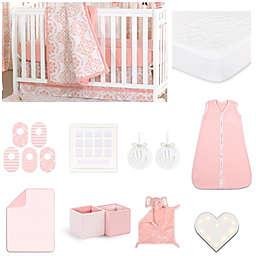 The Peanut Shell® Medallion Crib Bedding Collection