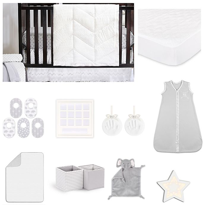 Alternate image 1 for The Peanutshell™ Taylor Crib Bedding Collection
