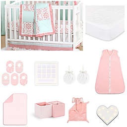 The Peanutshell™ Pretty Patch Medallion Crib Bedding Collection