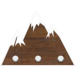 RoomMates® Mountain 13.5-Inch x 10-Inch Wood Wall Art with Hooks