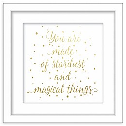 RoomMates® Stardust and Magical Things 12-Inch Square Framed Wall Art