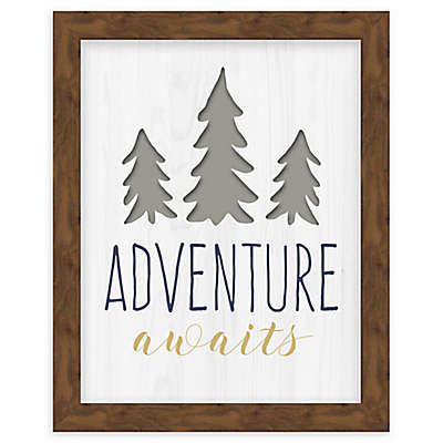 RoomMates® Adventure Awaits 8-Inch x 10-Inch Framed Wall Art