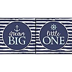 """RoomMates® """"Dream Big Little One"""" 16-Inch x 8-Inch Boxed Diptych Wall Art"""