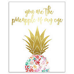 RoomMates® Pineapple of My Eye 8-Inch Square Framed Wall Art