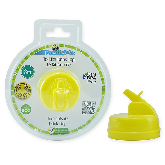 Alternate image 1 for Pacific Baby Wide-Neck Sippy Drink Top