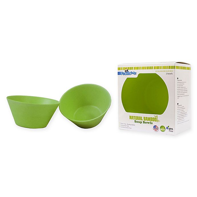 Alternate image 1 for Pacific Baby 2-Pack Soup Bowls