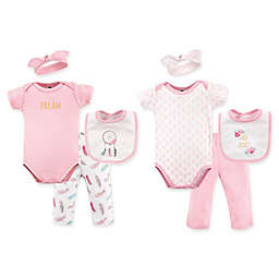 Hudson Baby® Size 0-6M 8-Piece Dream Catcher Clothing Set in White/Pink