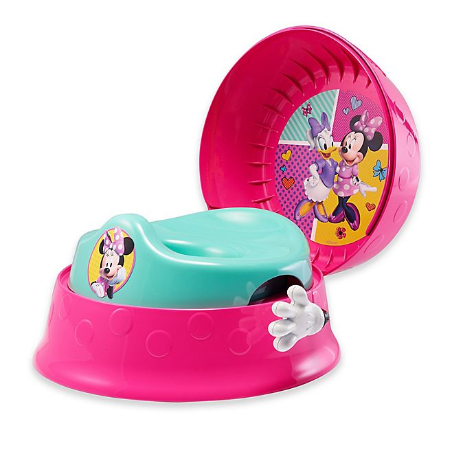 Alternate image 1 for The First Years™ by Tomy Disney® Minnie Mouse 3-in-1 Potty System