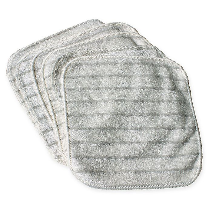 Alternate image 1 for e-cloth Chemical-Free 5-Pack Hand & Face Cleaning Cloth Wipes