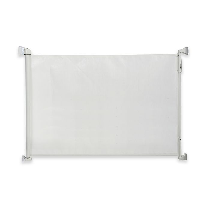 Kidco Retractable Safeway Gate In White Bed Bath And Beyond Canada
