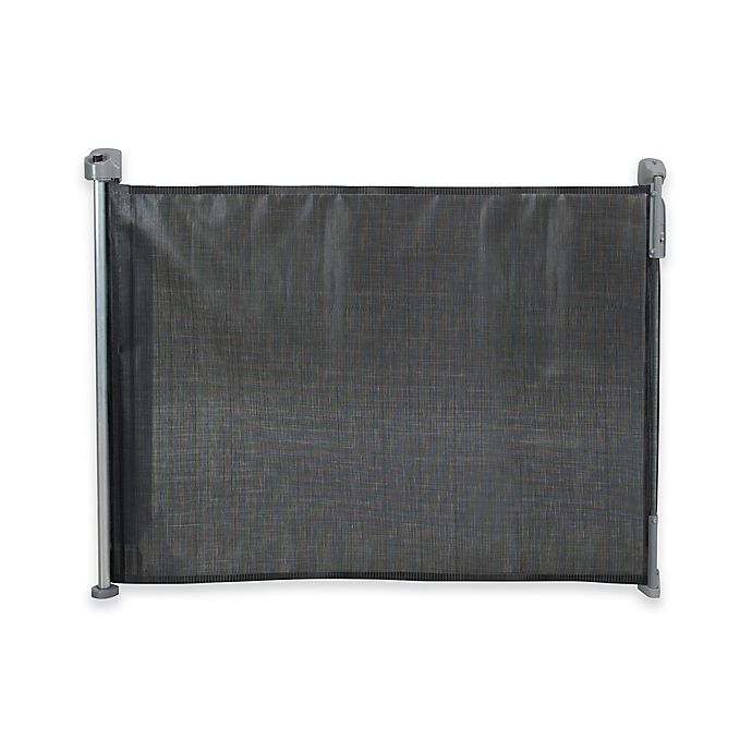 Kidco Retractable Safeway Gate In Black Bed Bath And Beyond Canada