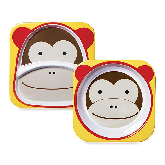 Alternate image 1 for SKIP*HOP® Melamine Monkey Tableware
