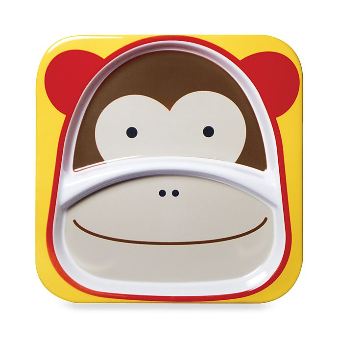 Alternate image 1 for SKIP*HOP® Melamine Plate in Monkey