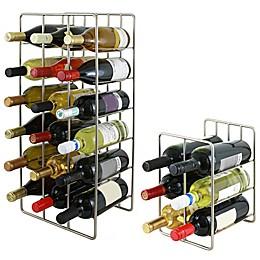 Oenophilia Milano Wine Rack in Silver