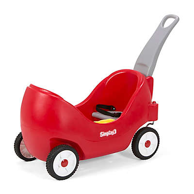 Simplay3® High Back Wagon in Red