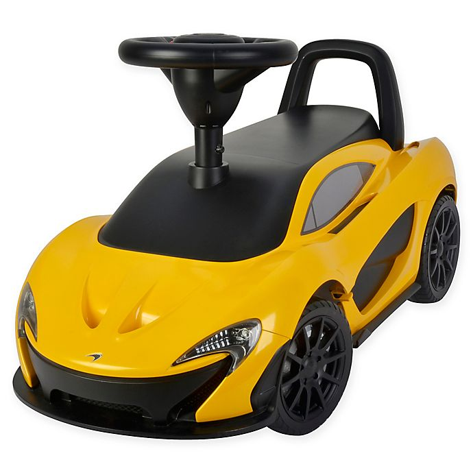 Alternate image 1 for Best Ride On Cars® McLaren Push Car in Yellow