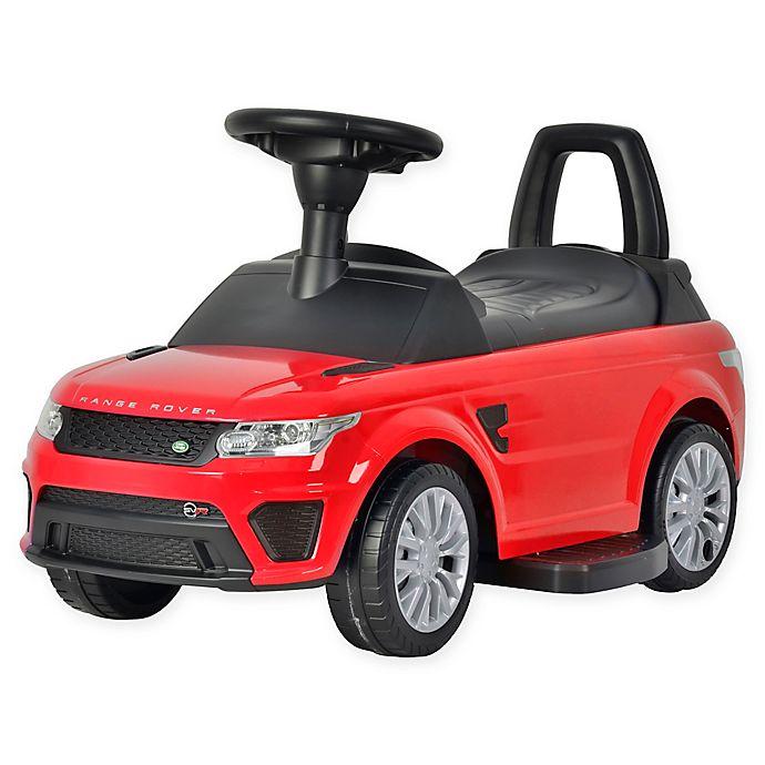 Alternate image 1 for Best Ride On Cars® Range Rover Sport SVR 6V Ride-On Car in Red