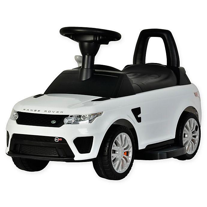 Alternate image 1 for Best Ride On Cars® Range Rover Sport SVR 6V Ride-On Car in White